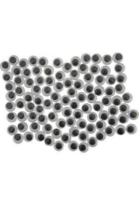 Bafix Oynar Göz Bfx-1010 Siyah 100 Lü