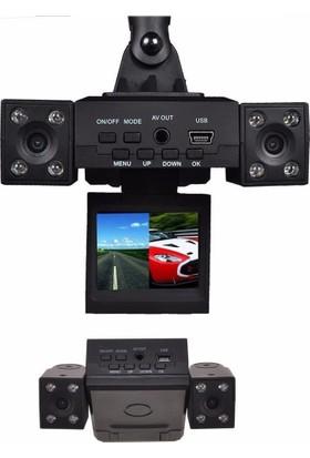 Azemax AK-420 Full HD Çiftli Araç İçi Kamera