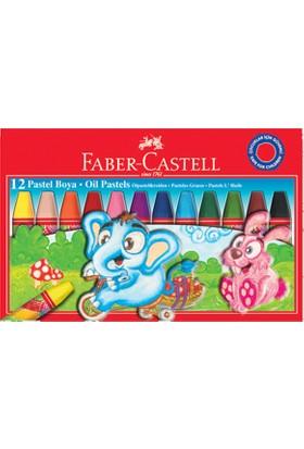 Faber Pastel Boya 12 Renk Redline Karton Kutu