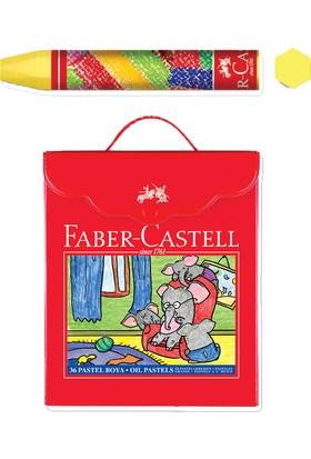 Faber Pastel Boya 36 Renk Plastik Çantalı