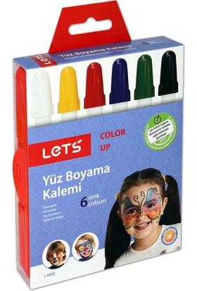 Lets Yüz Boyama Kalemi 6 Renk