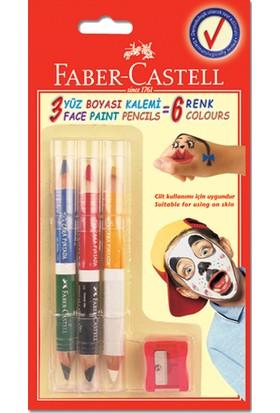 Faber Yüz Boyası 6 Renk