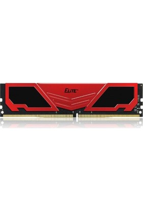 Team Elite Plus 4GB DDR4 2400Mhz Kırmızı Ram (TM4EP240041RD)