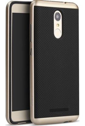 Case 4U Xiaomi Mi Note 4 Hybrid Korumalı İnce Arka Kapak Altın