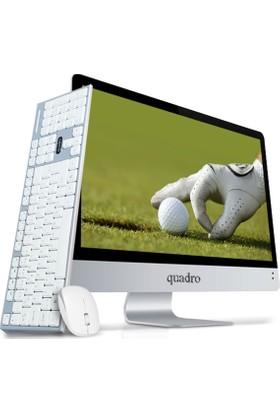 """Quadro Rapid Intel Core i5 7400 4GB 1TB Freedos 21.5"""" FHD All In One Bilgisayar HM1122-74410"""