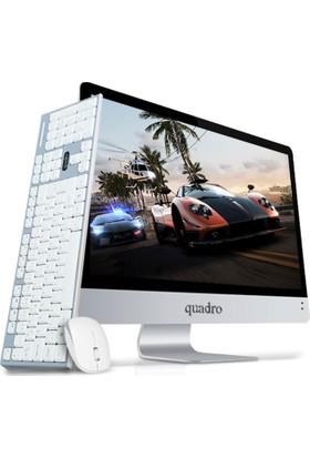 """Quadro Rapid Intel Core i7 7700 8GB 1TB Freedos 21.5"""" FHD All In One Bilgisayar HM1122-77810"""