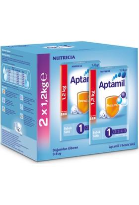 Aptamil 1 Bebek Sütü 1200 gr - 2'li