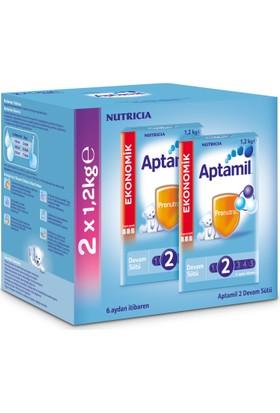 Aptamil 2 Devam Sütü 1200 gr - 2'li