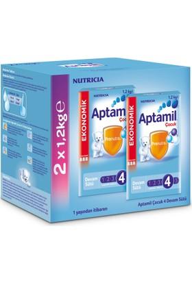 Aptamil 4 Çocuk Devam Sütü 1200 gr - 2'li