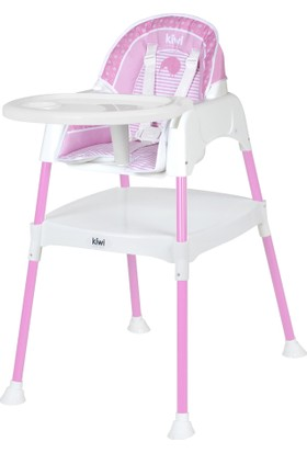 Kiwi Safe&Comfort 3 In 1 Multi Mama Sandalyesi - Pembe