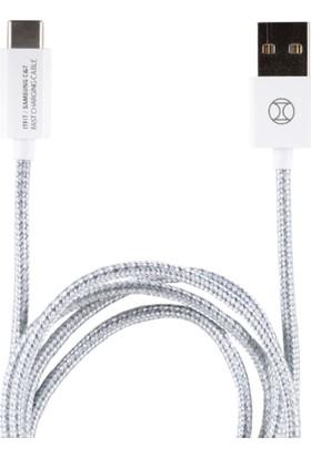 Samsung C&T Type-C Kevlar Kablo 1m - GP-A510KDCFAAB