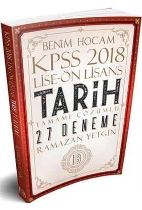 Benim Hocam Yayınları 2018 Kpss Lise Önlisans Tarih Tamamı Çözümlü 27 Deneme