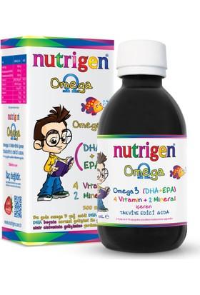 Nutrigen Omega 3 Balık Yağı Şurubu Çilek Aromalı 200 Ml