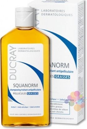 Ducray Squanorm Grasses Şampuan 200 Ml