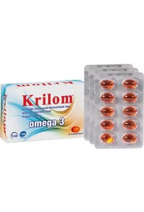 Krilom Omega 3 50 Kapsül Skt:12/2018