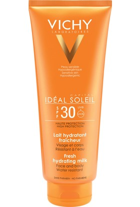 Vichy Ideal Soleil Lait Hydratant Spf 30+ 300 Ml Güneş Sütü