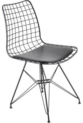 SZN Wood Sandalye Tel Ayak Hopna