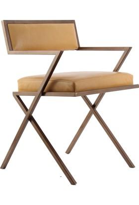 SZN Wood Sandalye Nanda Metal Ayak