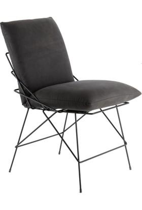SZN Wood Sandalye Grace Metal Ayak