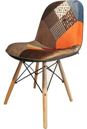 SZN Wood Sandalye Pera Ahşap Ayak Din
