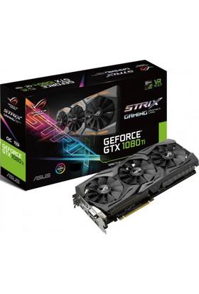 Asus ROG Strix GTX1080Ti 11GB 128Bit DDR5 (DX12) PCI-E 3.0 Ekran Kartı (GTX1080Ti-11GB)