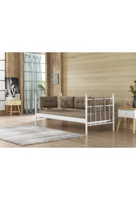 Unimet Lalas Sofa 90X200 (Mindersiz) Beyaz