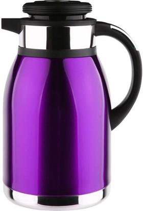 Penguen çay termosu 1200xl 2 litre mor