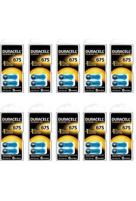 Duracell 675 Numaralı Kulaklık Pili 6x10(60 adet)