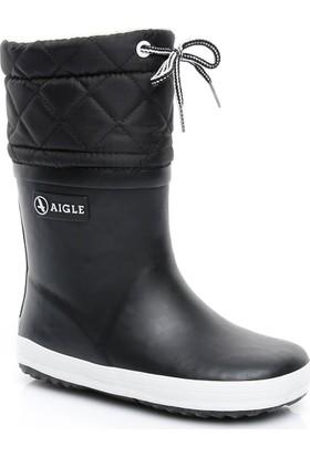 Aigle Giboulee Çocuk Siyah Yağmur Botu 245392