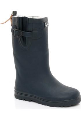 Aigle Woodypop Fur Çocuk Lacivert Yağmur Botu 242823