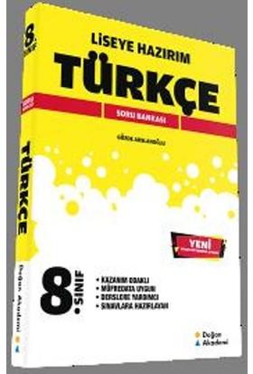 Liseye Hazırım 8. Sınıf Türkçe Soru Bankası