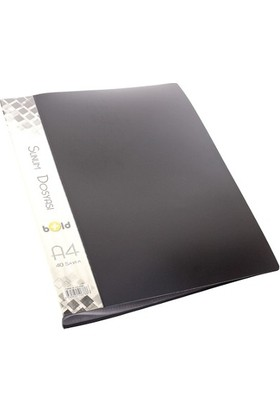 Bold Sunum Dosyası 80 yp. Siyah EK-SD80