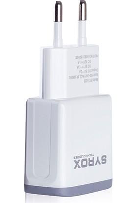Syrox Android Uyumlu Quıck Charging Set / 2.0 MaH Micro SYX-Q20