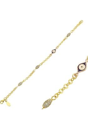 Altınbaş Altın Nazar Boncuklu Bileklik Blls0573-24839