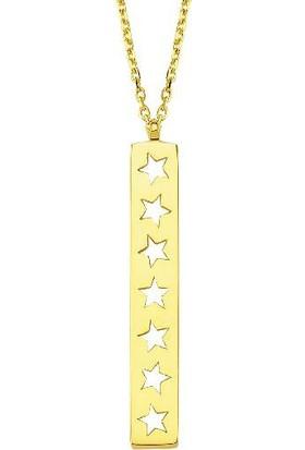Altınbaş Altın Yıldız Kolye Klek0029-24632