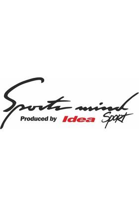 Otografik - Fiat Idea Sports Mind Oto Sticker 30 cm x 11 cm Siyah
