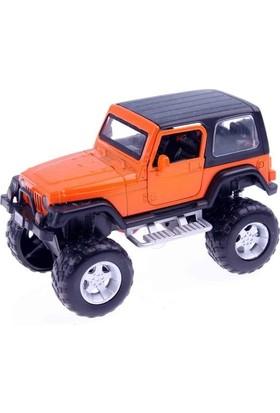 Akademiloji Sesli Işıklı Çek-Bırak Safari Jeep