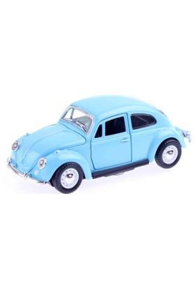 Akademiloji Sesli Işıklı Çek-Bırak Beetle Araba