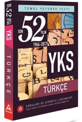 A Yayınları Yks 1. Oturum Tyt Türkçe 52 Yılın Soruları Ve Ayrıntılı Çözümleri