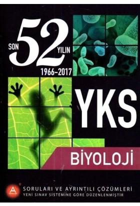 A Yayınları Yks Biyoloji Son 52 Yılın Soruları Ve Ayrıntılı Çözümleri