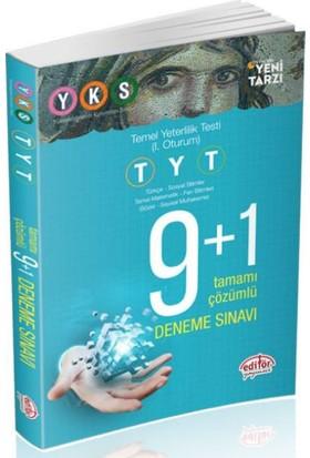 Editör Yks 1.Oturum Tyt 9 1 Deneme Sınavı