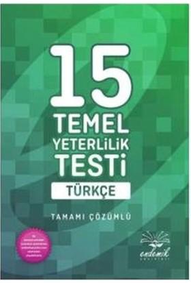 Endemik Yks Tyt Türkçe Tamamı Çözümlü 15 Deneme