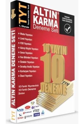 Altın Karma Tyt Deneme Seti 10 Farklı Yayın 10 Farklı Deneme
