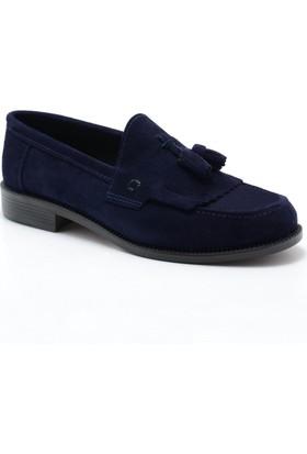 Corcuk Lacivert Süet Erkek Ayakkabı