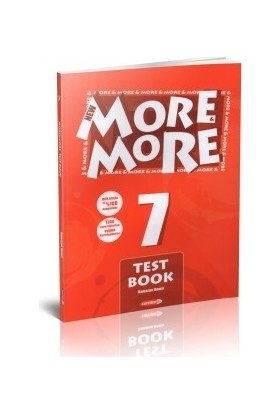 Kurmay More And More 7.Sınıf New Test Book