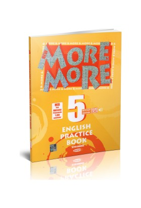 Kurmay More More 5.Sınıf English Practice Book