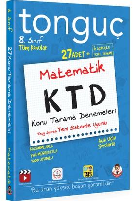 Tonguç Akademi 8. Sınıf Matematik Konu Tarama Denemeleri