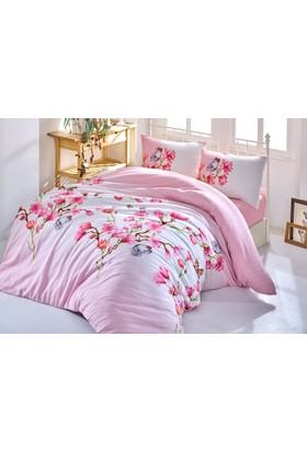 Cotton Box By Fixe Çift Kişilik Uyku Seti Bahardalı Pembe