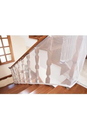 LilaBaby Merdiven Ve Balkon Güvenlik Filesi 3 Metre x 80 cm