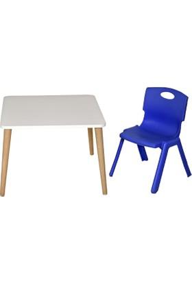 LilaBaby Çocuk Oyun masa Seti 1 Masa 1 Sandalye